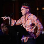 Nick Cearley in the May, 2016 concert of ...And Then I Wrote A Song About It at Feinstein's /54 Below (photo by Rebecca Woodman Taylor).