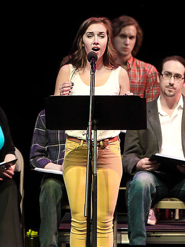 Pictured: Keaton Whitaker, Village Theatre Festival of New Musicals, Issaquah, WA, August, 2013.