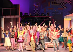 The cast of the Dos Pueblos High school production of Like You Like It.
