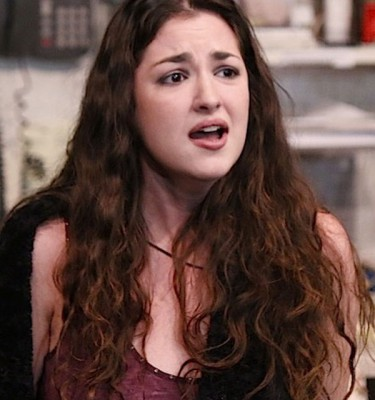 Pictured: Hannah DeFlumeri in the 2014 reading at the Peter Jay Sharp Theatre at Playwrights Horizons (photo by Michael Bonasio).