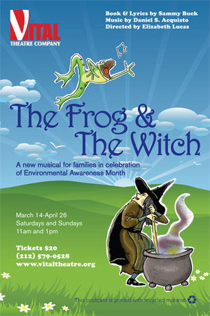The Frog & The Witch onesheet