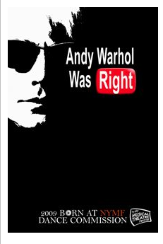 Andy Warhol Was Right logo