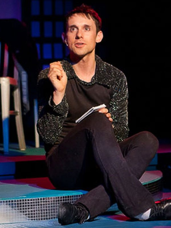 Pictured: Nick Cearley  in the 2010 Luna Stage production  (photo by Steven Lawler).